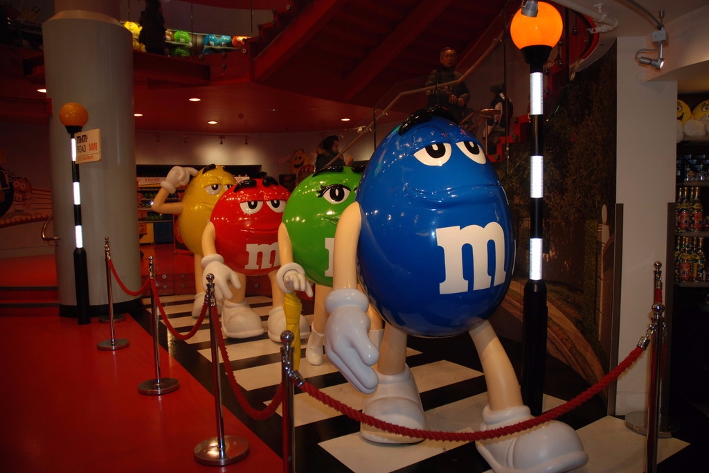 M&M World Londres