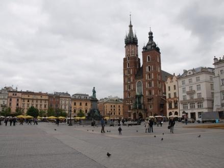 Un paseo por el centro histórico de Cracovia